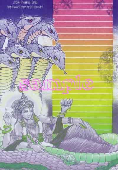 ヴィシュヌ神とアナンタ竜王