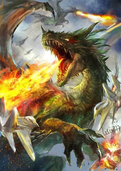 グリーンドラゴンらくがき2.jpg