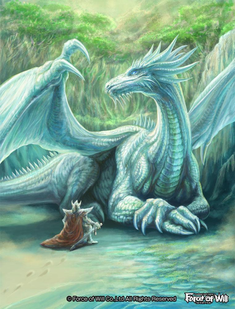 FOW:白鱗竜 スノーホワイト