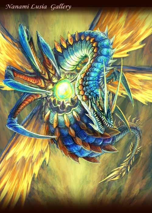 昆虫型ドラゴンモンスター